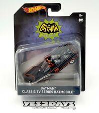 Hot wheels DC Batman Classic TV Series Batmobile Car 1:50 FH749 VHTF
