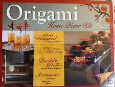 ORIGAMI HOME DECOR KIT By Peggy Kelly **BRAND NEW**