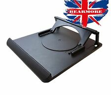 Laptop Table Stand Desk Tray Cooling Holder 360? Rotation Swivel Base @UK