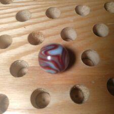 Rare Vintage Handmade Oxblood Flame Marble 7/8 6 Colors