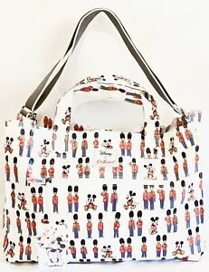 Cath Kidston Disney Mickey Mouse London Bag Guards Soldiers Carryall Handbag