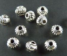 600pcs Tibetan Silver Lantern-Shaped Spacer Beads 5x4mm ZN71