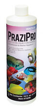 AQUARIUM SOLUTIONS PRAZIPRO 16 OZ PARASITE TREATMENT ** FREE SHIPPING 1920 GAL