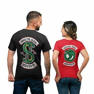 Riverdale South Side Serpents Women Mens T-Shirt Unisex Top