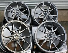 "19"" GREY SPEED ALLOY WHEELS FITS MERCEDES CABRIOLET W111 A124 CLC C123 C124 M12"