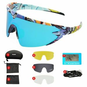 Mens Sunglasses Outdoor Sport Mountain Bike MTB Eyewear Women Cycling Goggles
