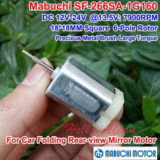 DC12V 24V Mabuchi SF-266SA 18MM Square 6-Pole Rotor Motor Large Torque Car Motor