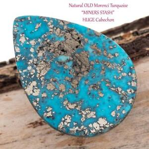 Morenci Blue Turquoise Natural Free Form Cabochon 5.5 Carat Cab Stone Untreated Gemstone Gems Jewelry Findings MC74