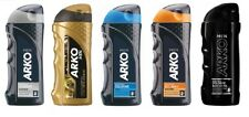 5 x ARKO AFTERSHAVE COLOGNE PLATINUM|GOLD POWER|COOL|COMFORT|BLACK EDITION 250ML