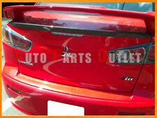 2008-2013 Lancer SE GT EVO X RS MR 4Dr OE Look Carbon Fiber Trunk Spoiler Lip