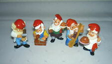 Surprise / on Eggs 5 Piece Zumpft Der Dwarfs 1992