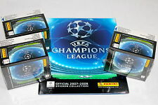 Panini liga de campeones 2007/2008 07/08 - 3 x display box sealed/embalaje original + 1 x álbum