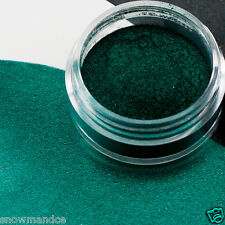 MINERAL MAKEUP~5 gm~SWEETSCENT~BARE~EYESHADOW~LOOSE POWDER~MICA~NAILS~DARK GREEN