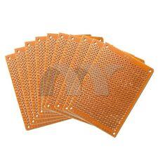 10pcs DIY Prototype Paper PCB Universal Experiment Matrix Circuit Board 5 x 7cm