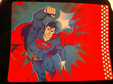 """NEW SUPERMAN 14"""" x 18"""" LENTICULAR RETRO STYLE PLACEMAT"""
