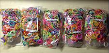 1000 gomitas para manualidad pulseras kit con accesorios  - PULSERAS GOMILLAS