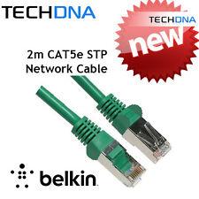 Belkin 2m Gigabit CAT5E Shielded RJ45 FTP Network Ethernet Cable PC Router Lead