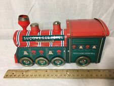 Williams-Sonoma Christmas Train, Holiday Lollipop Tin Sucons Des Fetes