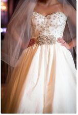 """BRAND NEW W/TAGS ANNE BARGE """"ANTOINETTE"""" WEDDING DRESS 8 RETURN POLICY"""