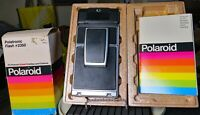 Polaroid SX-70 Land Camera SONAR Onestep with Pola-flash