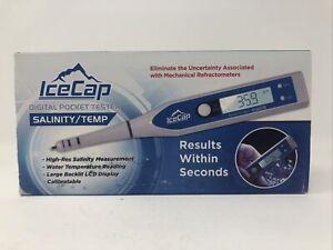 Icecap Salinity/Temperature Digital Tester Saltwater Aquariums Refractomer