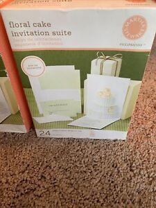Martha Stewart Printable Wedding Invitations 24+ 3 Test Sheets Lot Of 2 NIB