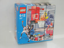 1 trozo de lego ® Sports 3427 NBA Basketball nuevo embalaje original _ NBA Slam Dunk New misb NRFB