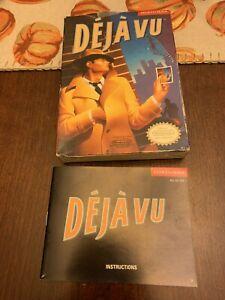 Deja Vu (Nintendo NES) Original Box & Manual Only (No Game)