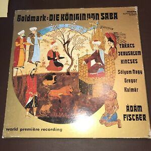 Goldmark- Die Königin Von Saba 4 LP Box Adam Fischer 956f