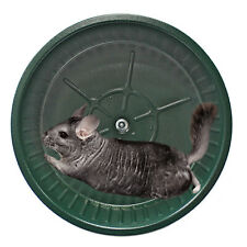 Chin Sprint All-Metal Exercise Wheel (Green) - Chinchilla Prairie Dog Rat Degu