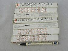 New Vintage 1985 Autopoint Pencil Lot of 7 Advertising Union Carbide w/ Boxes