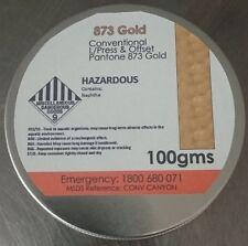 PMS 873 Gold 100 grams Letterpress Metallic Ink