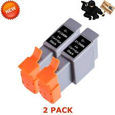 2 Pack BCI-24 Black ink For Canon i320 i350 i450 i455 i470d MP360 MP370 MP390