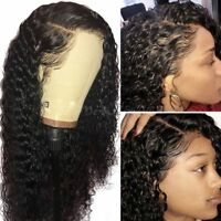 360 Lace Frontal Wig Curly  Malaysian virgin Synthetic Wigs Pre Plucked