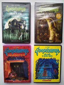 Goosebumps DVDS - RL Stine - Bulk Lot Scholastic -  Region 1 - RARE