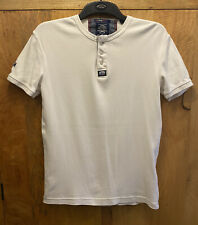 Superdry White Top - Size S