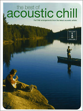 THE BEST OF ACOUSTIC CHILL TAB Guitar Vocal Sheet Music Book Pop Rock Chart Hits