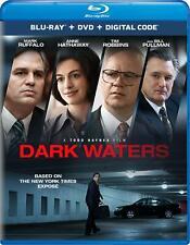 DARK WATERS BLU-RAY | DVD | MARK RUFFALO |ANNE HATHAWAY| TIM ROBBINS | SHIPS 3/3