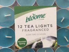 TEA LIGHT CANDLES SCENTED ASSORTED FRAGRANCE FEEL FRESH NEW UK