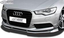 Audi A6 C7 - Front splitter Vario Diffuser PUR Plastic