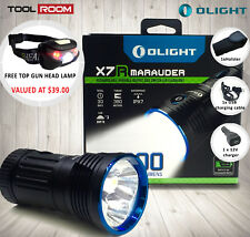 Olight X7R Marauder 12000 Lumens LED Search Light [Free Head Lamp Included]