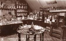 Tom Cobley's Shop Interior Widecombe in the Moor unused RP old pc Tuck