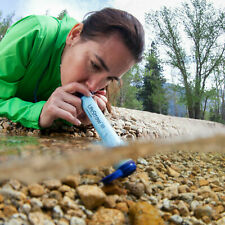 NEW LifeStraw Water Filter - Hiking Camping Travel Emergency Survival Life Straw