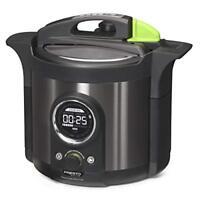 Presto Precise 6-quart Multi-use Pressure Cooker Plus (02142)