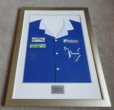 More details for phil taylor signed darts shirt premier league winner 2008