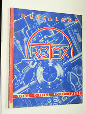 Catalogue outillage ROTAX  Non daté  Outils pour Tubes   prospekt Tools brochure