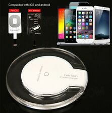 For Samsung Galaxy S6,S6 Edge,S7 S7 Edge QI Wireless Charger Charging Pad Plate