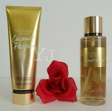 VICTORIA SECRET - COCONUT PASSION - FRAGRANCE LOTION N MIST (SET) - NEW