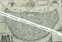 Köln - Plan der Stadt - Nach einer historischen Darstellung - um 1900   T 19-7