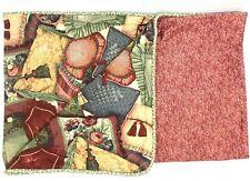 Vintage Waverly Custom King Size Duvet and Shams Includes 2 Throw Pillows Euc